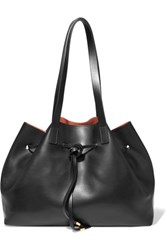 Iris And Ink Leather Tote Black