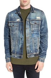 Prps Men's Patchwork Denim Jacket