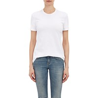 Barneys New York Women's Crewneck T Shirt White