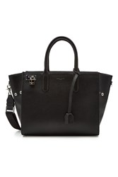 Zadig And Voltaire Muse Leather Tote Black