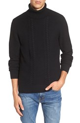 Men's 1901 Spire Cable Knit Turtleneck Sweater
