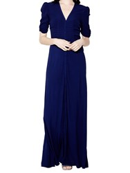Ghost Tara Dress Marine Blue
