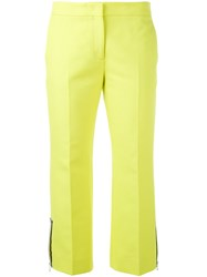 N 21 No21 Tailored Cropped Trousers Yellow Orange