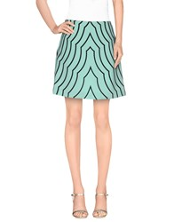 Marc By Marc Jacobs Skirts Knee Length Skirts Women Light Green