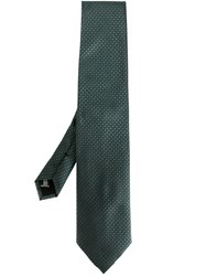 Pal Zileri Printed Tie Green