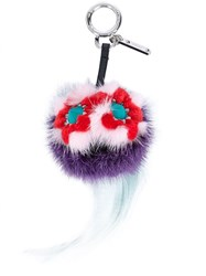 Fendi Mini Bag Bugs Bag Charm Multicolour