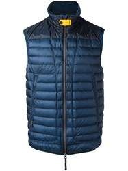 Parajumpers Sleeveless Padded Coat Blue