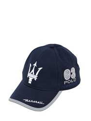 La Martina Maserati Archie Cotton Twill Hat