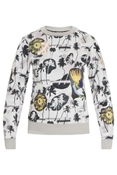 Opening Ceremony Palm Collage Sweatshirt