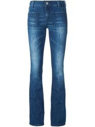 Dondup Front Pocket Flared Jeans