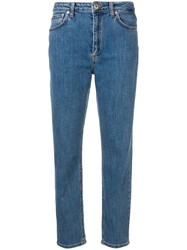 Dondup Classic Mom Jeans Blue