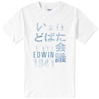 Edwin Gym Tee White