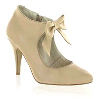 Marta Jonnsson Mary Jane Courts With A Bow Beige
