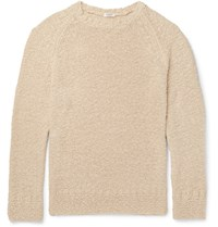 Eidos Knitted Cotton Sweater Beige