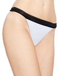 Design Lab Lord And Taylor Colorblock Thongs High Rise