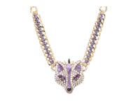 Betsey Johnson Fox Princess Frontal Necklace Purple Necklace