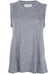 The Great Sleeveless Tank Top Grey