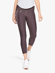 Under Armour Rush Cropped Training Tights Ash Taupe
