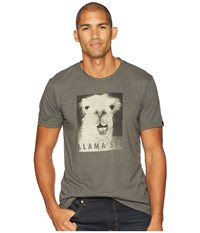 Prana Llamaste Journeyman Charcoal Heather T Shirt Gray