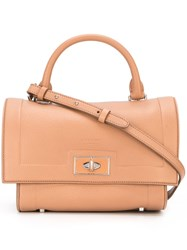 Givenchy Square Shoulder Bag Nude And Neutrals