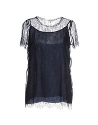 P.A.R.O.S.H. Shirts Blouses Women Dark Blue
