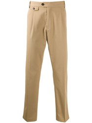 Calvin Klein Tapered Trousers Neutrals