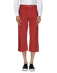 Murphy And Nye Trousers 3 4 Length Trousers Men Red