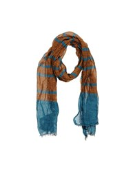 Brian Dales Accessories Oblong Scarves Men Camel