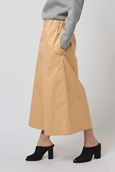 Wide Leg Culottes By Boutique Camel