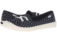Palladium Flex Ballet Pd Black Antique White Polka Dots Women's Shoes