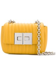 Tom Ford Natalia Mini Quilted Bag Yellow