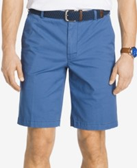 Izod Saltwater Stretch Chino Shorts Federal Blue