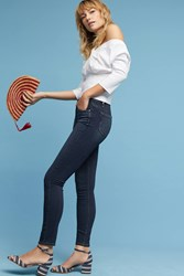 Anthropologie Paige Hoxton High Rise Skinny Ankle Jeans Denim Dark