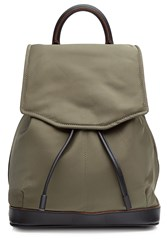 Rag And Bone Backpack With Leather Green