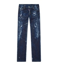 Dsquared2 American Pie Slim Jeans Male Blue