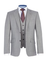 Paul Costelloe Men's Brody Wool Suit Grey