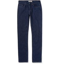 Loro Piana Cotton And Cashmere Lined Denim Jeans Blue