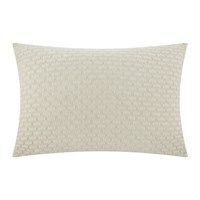 Dkny Geo Jersey Knit Pillowcase Mushroom