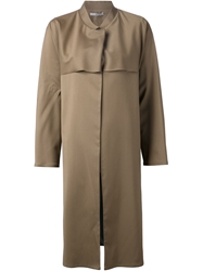 Dusan Contrast Panel Coat