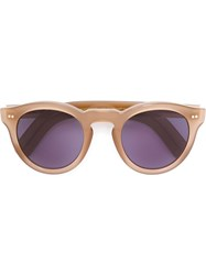 Cutler And Gross Round Frame Sunglasses Brown