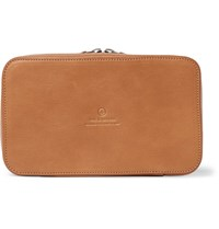 This Is Ground Leather Tech Bag Tan