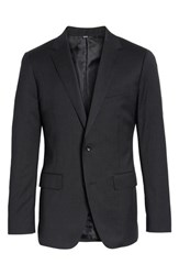 Bonobos Big And Tall Trim Fit Solid Stretch Wool Sport Coat Charcoal