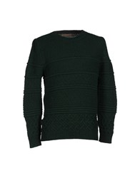 Relive Knitwear Jumpers Men Dark Green