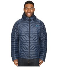 Jack Wolfskin Argo Supreme Jacket Night Blue Men's Coat Navy