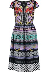 Temperley London Marley Printed Crepe Dress Multi