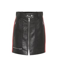 Etoile Isabel Marant Alynne Leather Skirt Black