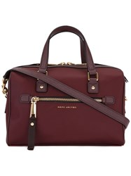 Marc Jacobs Trooper Bauletto Tote Red