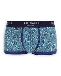 Ted Baker Paisley Print Marl Boxer Briefs Blue