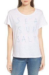 Sundry Women's Sea Sun Salt Graphic Tee