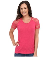 Ariat Debbie Top Fruit Punch Women's T Shirt Red